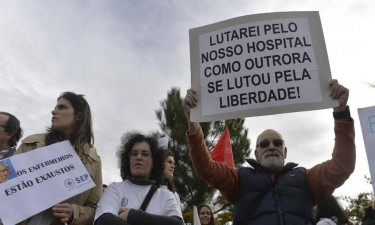 Enfermeiros recorrem ao 'crowdfound' para sustentar greve