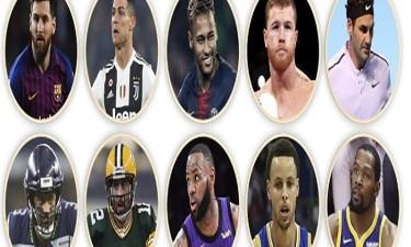 Os 10 atletas mais bem pagos do mundo