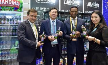 Luandina reforça presença na China