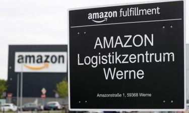 Trabalhadores da Amazon em greve