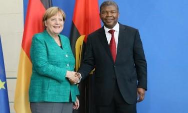 Angela Merkel em Luanda