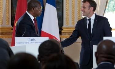 Presidente francês visita Angola