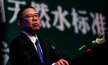 O homem mais rico da China vende água