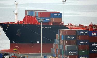 Importações marítimas  subiram 30% em 2020
