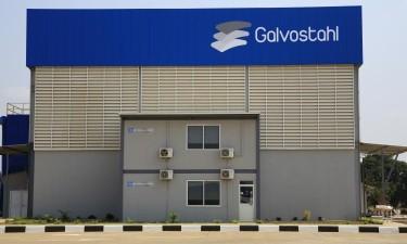Inaugurada primeira fábrica de galvanização de aço