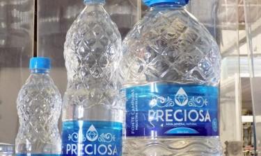 Receitas da 'Água Preciosa' caem 65%