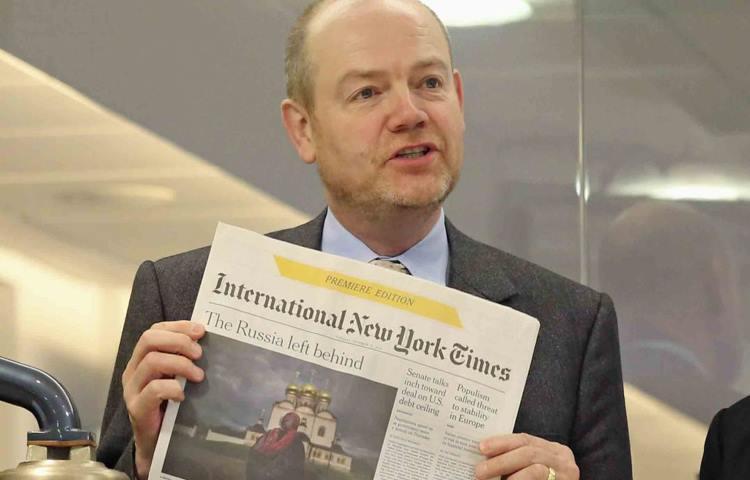 New York Times com lucros no digital