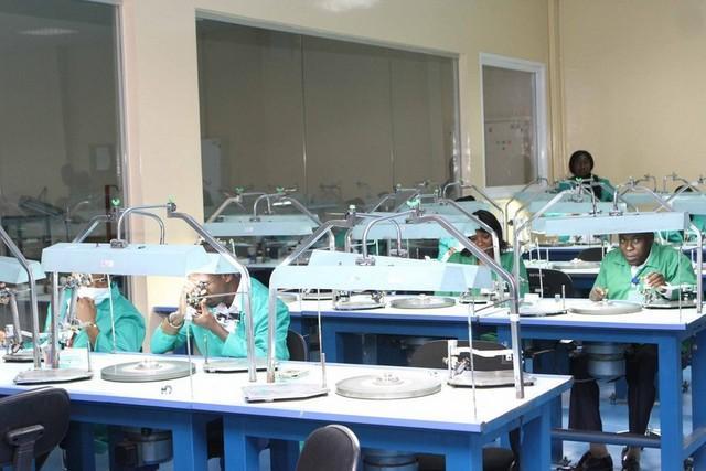 Nova fábrica de lapidação de diamantes é inaugurada amanhã