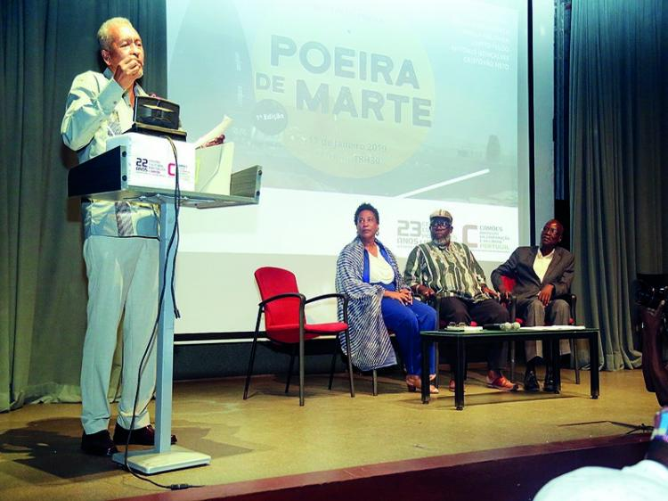 Projecto 'Poeira de Marte' junta 'estrelas' literárias