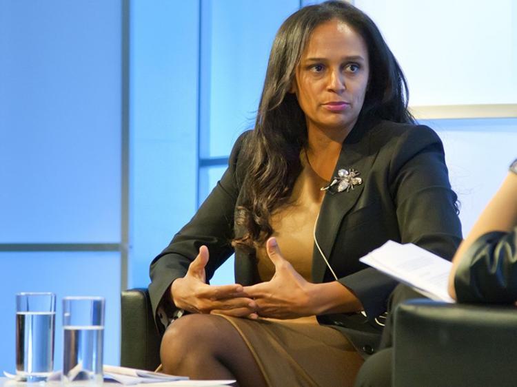 Isabel dos Santos diz-se apostada na promoção de África
