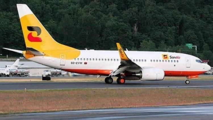 Sonair encerra voos para Catumbela e Lubango