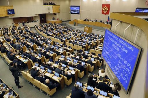 Duma aprova lei que permite continuidade de Putin no poder após 2024
