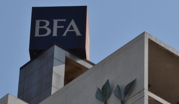 BFA torna-se operador preferencial de títulos do tesouro