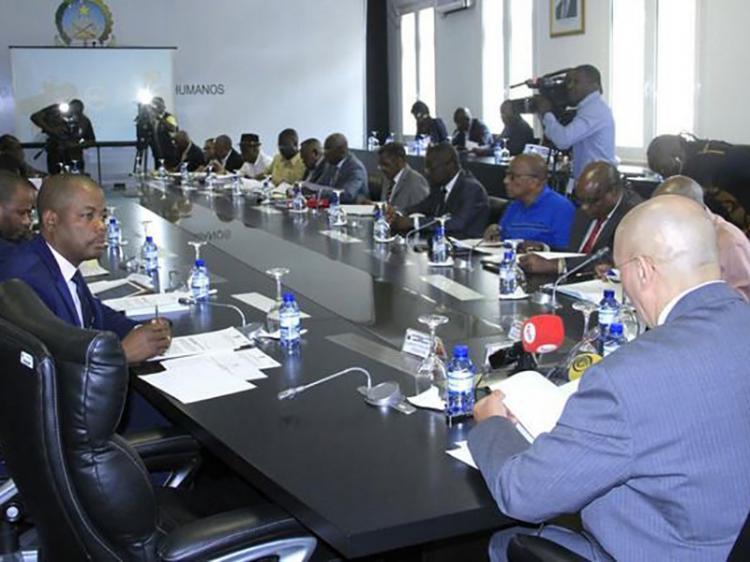 Ministério da Justiça acolhe reunião sobre vítimas dos conflitos políticos