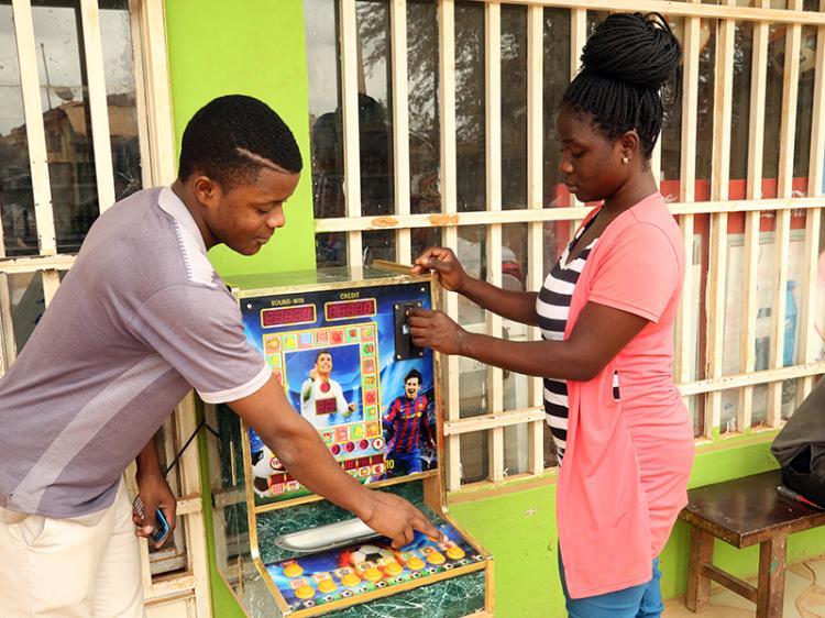 Jogos mecanizados criam negócios