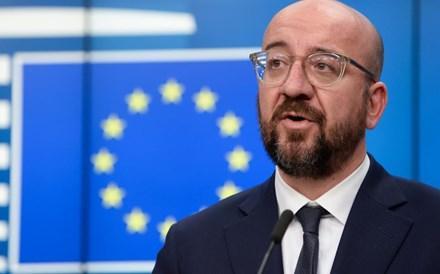 Líderes da UE em reunião extraordinária