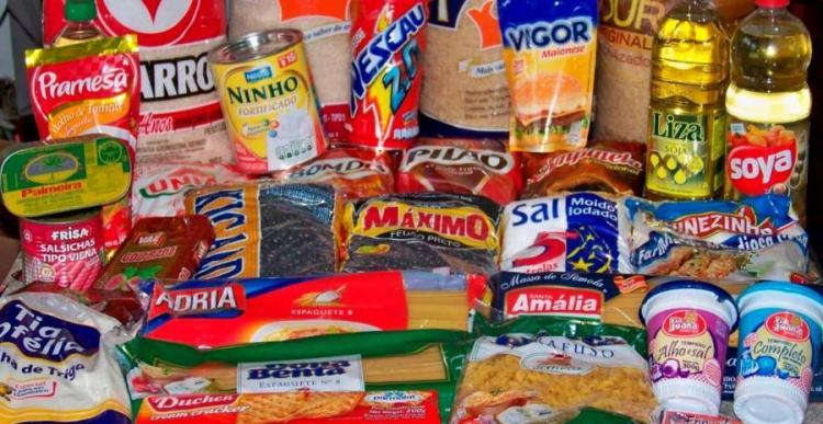 Produtos da cesta básica importados com IVA de 5 por cento