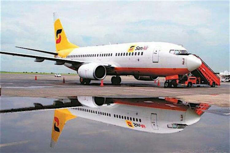 SonAir entrega Boings 737-700