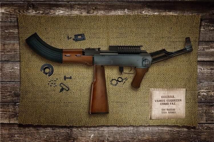 Recolhidas mais de 111 mil armas de fogo