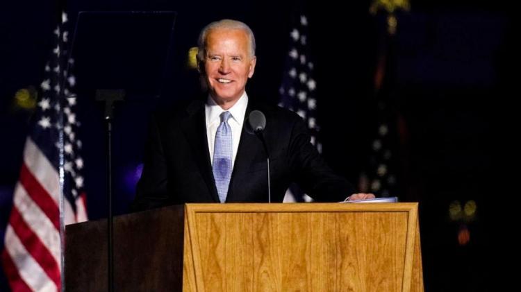 Joe Biden recebe primeiro