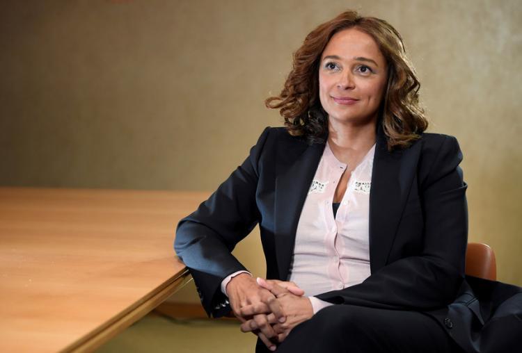 Provas mostram que Isabel dos Santos terá usado os 135 milhões da Sonangol