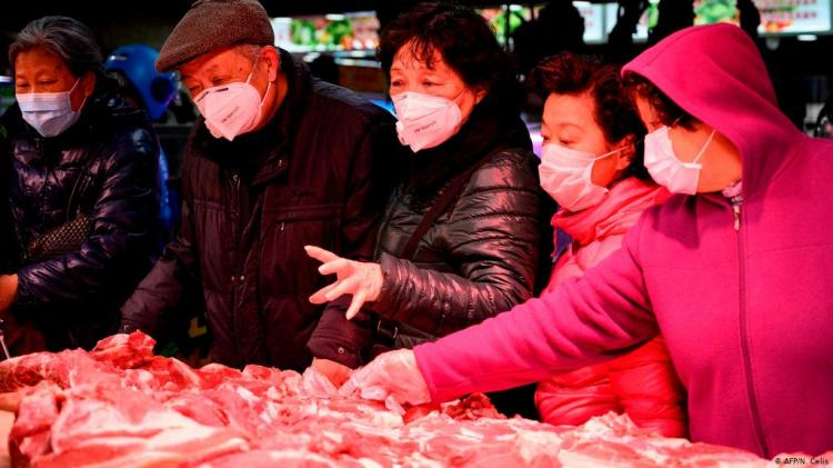 China suspende importação de carne congelada