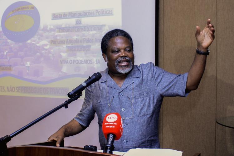"""PRA JA Servir Angola garante """"resposta política"""" ao novo chumbo"""