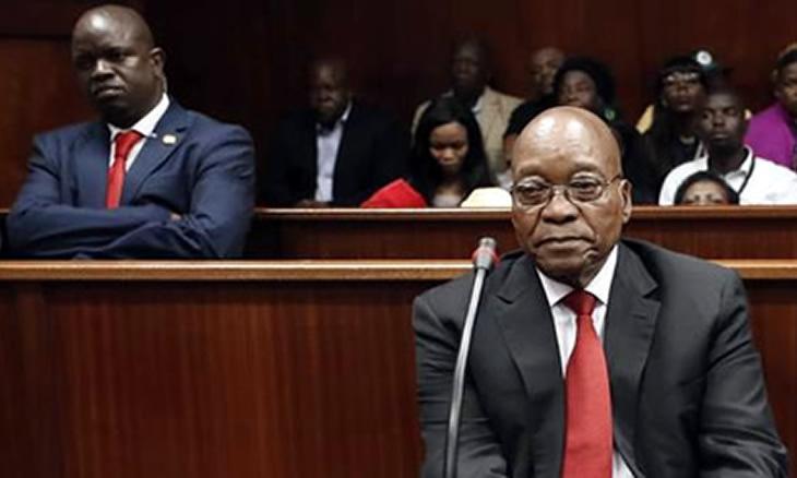 Julgamento de Jacob Zuma inicia a 17 de Maio