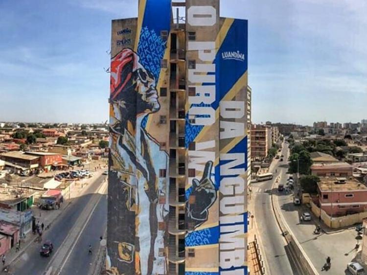 Kolectivo Baúka desafia-se a colorir Luanda