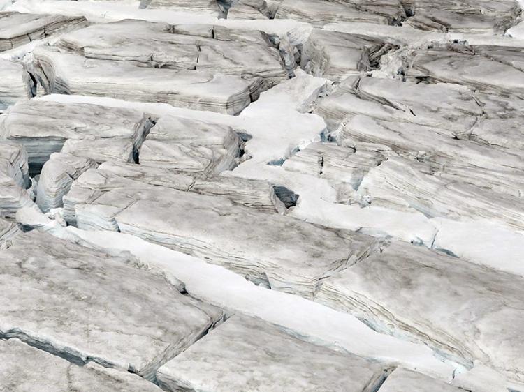 Glaciares estão  a acelerar deslizamento