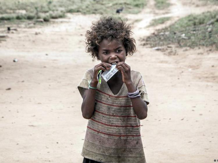 Primeiro país com fome devido às alterações climáticas