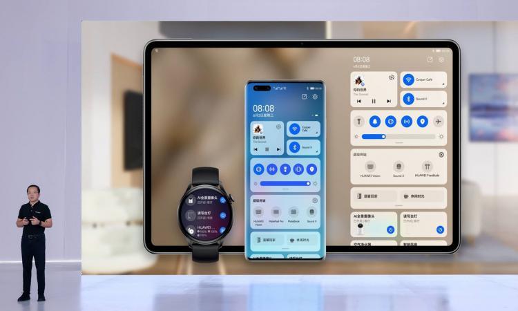 Huawei lança uma gama de novos produtos com HarmonyOS 2