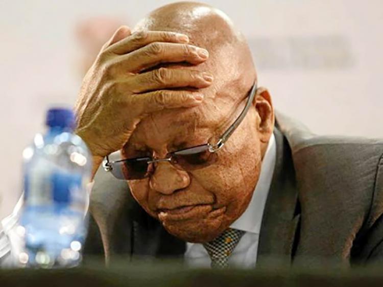 Tribunal condena Zuma a 15 meses de prisão