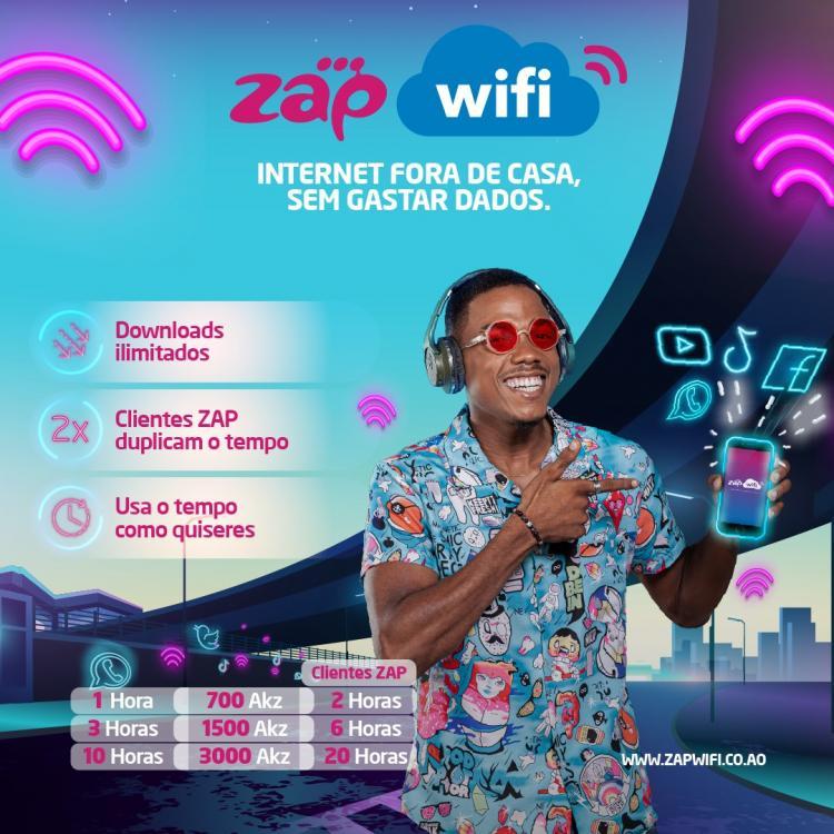 ZAP WIFI CHEGOU O SEU SERVIÇO DE INTERNET FORA DE CASA